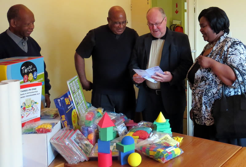 Educational toys donated