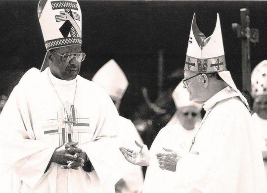 Cardinal Napier and Archbishop Denis Hurley